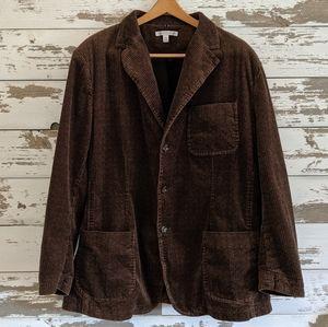 Geoffrey Beene corduroy jacket coat suitcoat